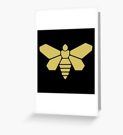 Golden Moth Chemicals Greeting Card