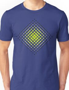 Pink Polynomial Unisex T-Shirt