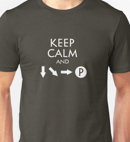 Keep Calm and Fireball Unisex T-Shirt