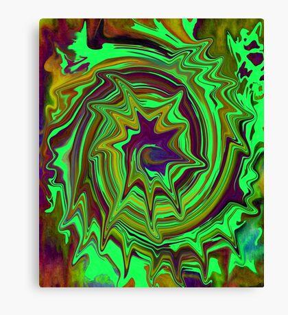 Ska-riffic Seashell Abstract  Canvas Print