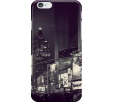 Night Lights in Times Square iPhone Case/Skin