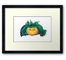 Angry Doll Framed Print