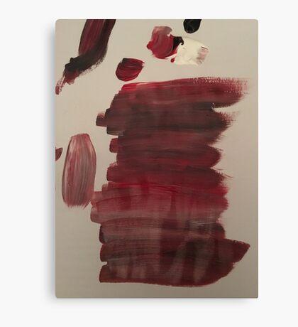 Merging Paint Canvas Print