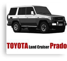 Toyota Land Cruiser Prado Canvas Print