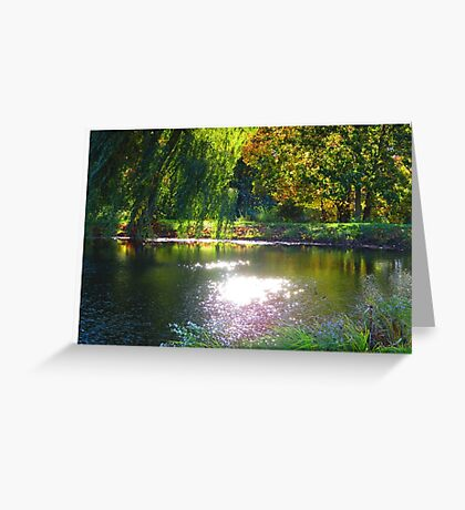 Tranquil Reflection Greeting Card