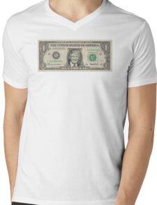 Trump - One Dollar Bill   Mens V-Neck T-Shirt