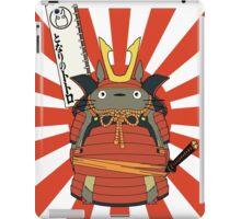 Samurai Totoro iPad Case/Skin