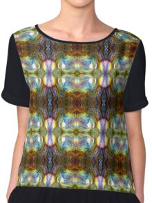 The Electric Psychedelic Bubble Chiffon Top