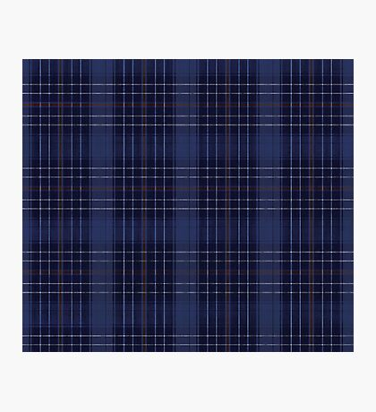 A Mystic Wit Complimentary Blue Plaid Photographic Print