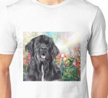 Newfoundland Painting  Unisex T-Shirt