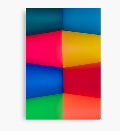 Abstract Multi Coloured Background 2 Canvas Print