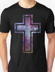 Nebula Cross - Black T-Shirt