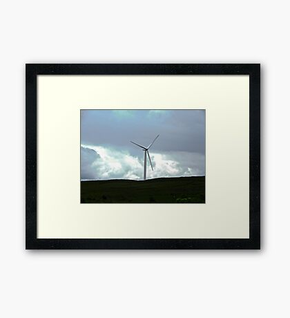 Windmill in Donegal, Republic of Ireland Framed Print