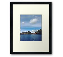 Autumn at Acadia Framed Print