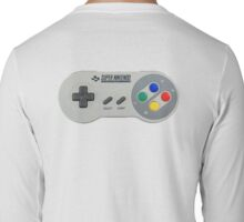 SNES Controller Long Sleeve T-Shirt