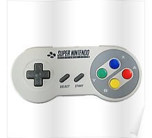 SNES Controller Poster