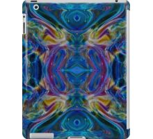 Teal Psychedelic Peacock Abstract iPad Case/Skin