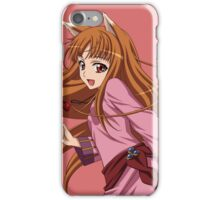 Holo (spice and Wolf) iPhone Case/Skin