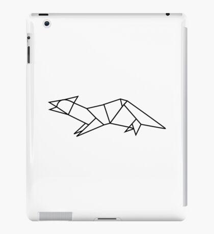 Origami Ferret iPad Case/Skin