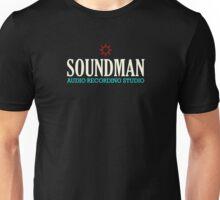Vintage Colorful Soundman Unisex T-Shirt