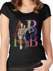 Absolutely Fabulous Ab Fab Women's Fitted Scoop T-Shirt