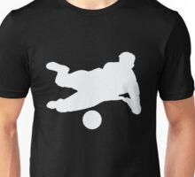 Soccer Player Football Kicking Ball Scoring  Unisex T-Shirt