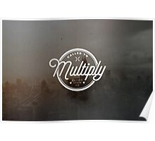 Multiply Circle Poster Poster
