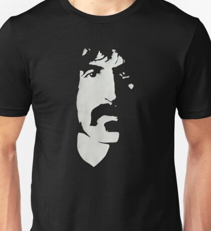 Frank Zappa Silhouette (No Text) Unisex T-Shirt