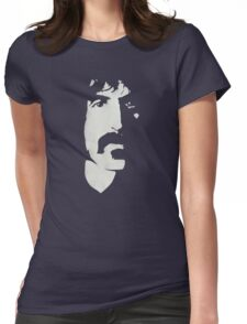 Frank Zappa Silhouette (No Text) Womens Fitted T-Shirt