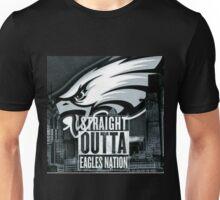Philadelphia Eagles Straight Outta Eagles Nation Unisex T-Shirt