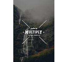 Multiply Cross Photographic Print