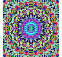 Modern Mandala Art 81 Photographic Print