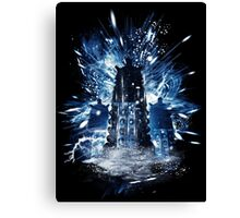 exterminate storm Canvas Print
