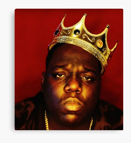 notorious big Canvas Print