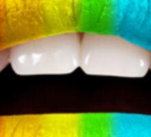 Prideful lips Sticker
