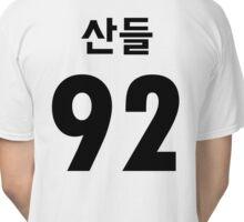 B1A4 Sandeul Black Jersey Style Classic T-Shirt