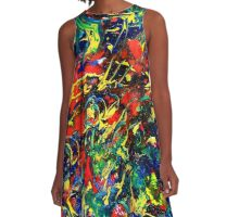 Wild and Free A-Line Dress