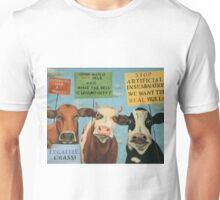 Cows On Strike Unisex T-Shirt