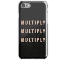 Multiply X3 iPhone Case/Skin