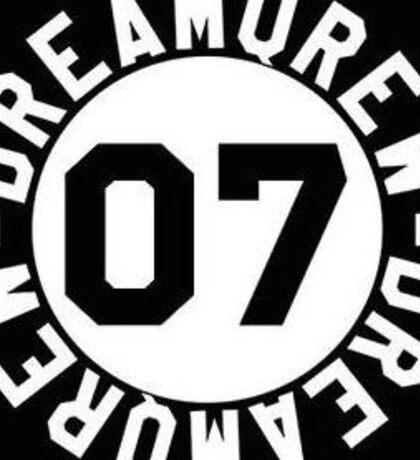 """Qias Omar """"Dream Qrew"""" 07 logo Sticker"""