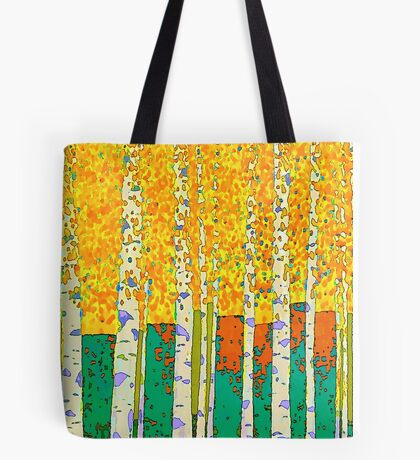 Birch wood Tote Bag