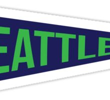 Seattle Pennant Sticker