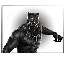 Super heroes Black Panther Photographic Print