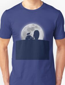 Wall•E and EVE in the Moonlight, Awwwww. T-Shirt
