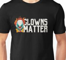 Scary Clowns Matter Halloween  Unisex T-Shirt