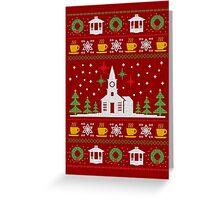 gilmore christmas Greeting Card