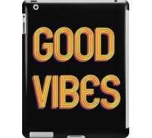 Good Vibes - Retro Feeling iPad Case/Skin
