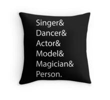 Miranda Sings (Singer& Dancer& Actor& Model& Magician& Person) Throw Pillow