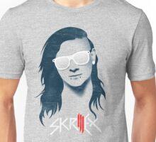 skrillex - dubstep - flat design Unisex T-Shirt