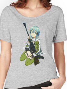 Sinon Sword art online II Women's Relaxed Fit T-Shirt